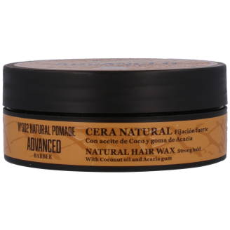 ADVANCED BARBER-Nº302 NATURAL POMADE WOSK NATURALNY